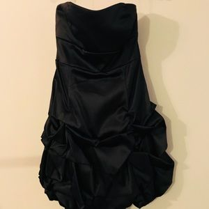 NWT Ruby Rox Black Bubble Dress for Prom or Dance